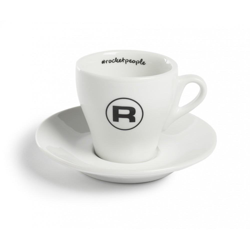 ROCKET HASHTAG ESPRESSO CUPS WHITE - SET OF 6